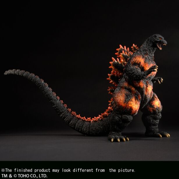 "Yuji Sakai Modeling collection Godzilla(1995) ""Hong Kong Landing""  Second order"